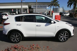 2017 Kia Sportage QL MY18 GT-Line AWD White 6 Speed Sports Automatic Wagon.