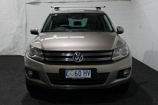 2015 Volkswagen Tiguan 5N MY15 132TSI DSG 4MOTION Gold 7 Speed Sports Automatic Dual Clutch Wagon.