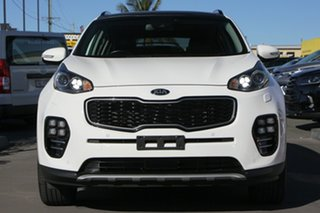 2017 Kia Sportage QL MY18 GT-Line AWD White 6 Speed Sports Automatic Wagon