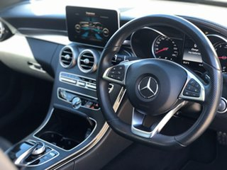 2015 Mercedes-Benz C-Class W205 806MY Grey 7 Speed Sports Automatic Sedan.