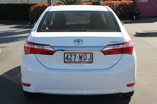 2016 Toyota Corolla ZRE172R Ascent S-CVT Glacier White 7 Speed Constant Variable Sedan