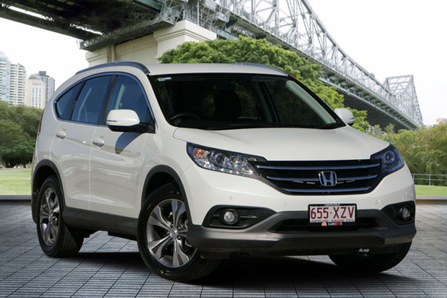 Used Honda CR-V RM MY15 VTi 4WD Plus, 2014 Honda CR-V RM MY15 VTi 4WD Plus White 5 Speed Sports Automatic Wagon