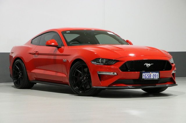 Used Ford Mustang FN Fastback GT 5.0 V8, 2018 Ford Mustang FN Fastback GT 5.0 V8 Red 10 Speed Automatic Coupe