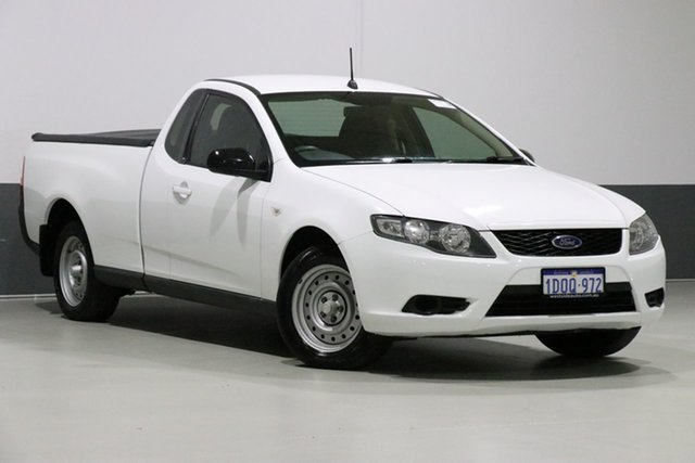 Used Ford Falcon FG Upgrade , 2011 Ford Falcon FG Upgrade White 6 Speed Auto Seq Sportshift Utility