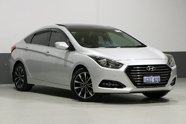 Used Hyundai i40 VF4 Series II MY17 Premium, 2016 Hyundai i40 VF4 Series II MY17 Premium Silver 7 Speed Auto Dual Clutch Sedan