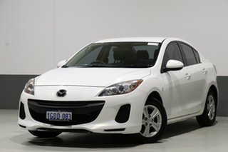 2012 Mazda 3 BL 11 Upgrade Neo White 5 Speed Automatic Sedan.