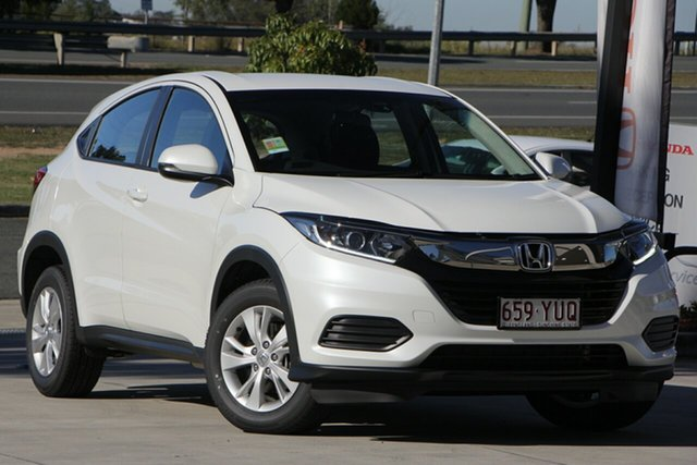 Demo Honda HR-V MY19 VTi, 2019 Honda HR-V MY19 VTi White Orchid 1 Speed Constant Variable Hatchback