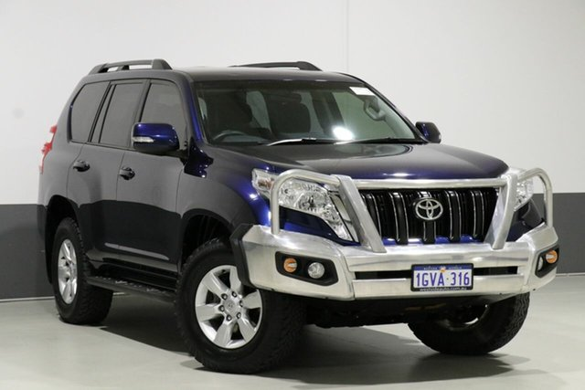 Used Toyota Landcruiser Prado GRJ150R MY14 GXL (4x4), 2014 Toyota Landcruiser Prado GRJ150R MY14 GXL (4x4) Dynamic Blue 5 Speed Sequential Auto Wagon