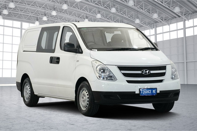 Used Hyundai iLOAD TQ-V , 2009 Hyundai iLOAD TQ-V Ceramic White 5 Speed Manual Van