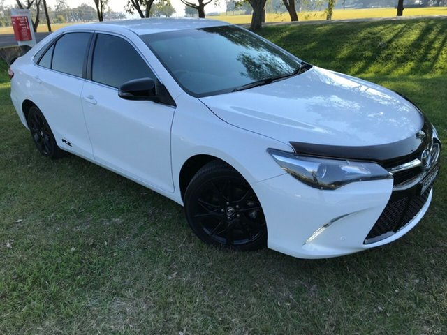 Used Toyota Camry ASV50R RZ, 2016 Toyota Camry ASV50R RZ Diamond White 6 Speed Sports Automatic Sedan