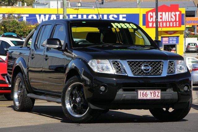 Used Nissan Navara D40 S6 MY12 ST 4x2, 2012 Nissan Navara D40 S6 MY12 ST 4x2 Black/Grey 5 Speed Sports Automatic Utility