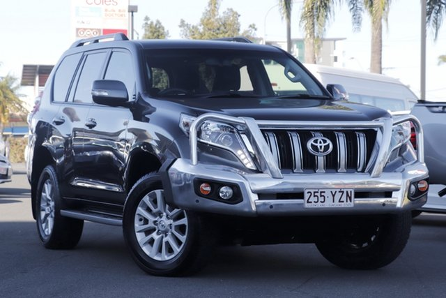 Used Toyota Landcruiser Prado GDJ150R VX, 2016 Toyota Landcruiser Prado GDJ150R VX Graphite 6 Speed Sports Automatic Wagon