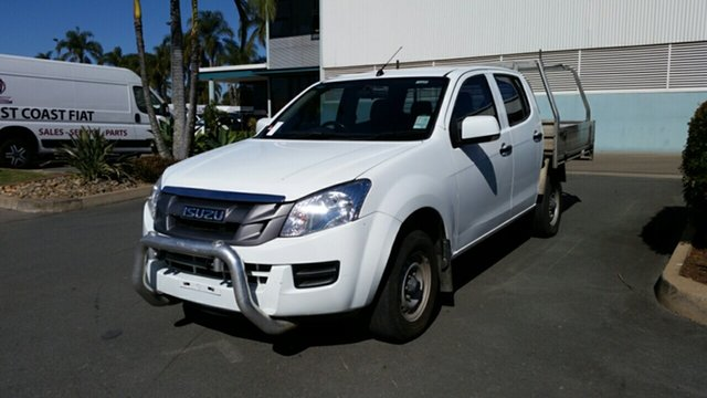 Used Isuzu D-MAX MY15 SX Crew Cab, 2015 Isuzu D-MAX MY15 SX Crew Cab White 5 Speed Manual Cab Chassis