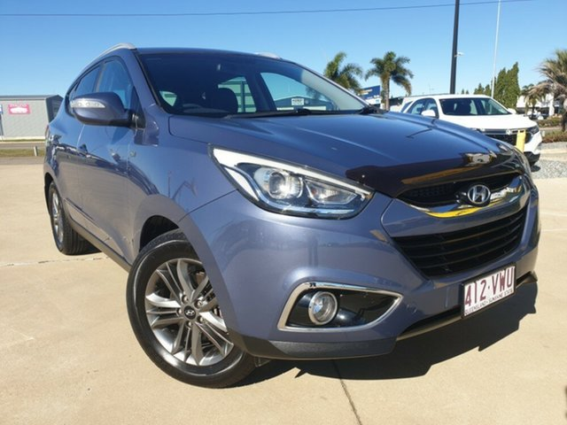 Used Hyundai ix35 LM2 SE, 2013 Hyundai ix35 LM2 SE Blue 6 Speed Sports Automatic Wagon