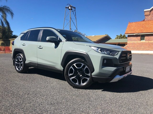 Demo Toyota RAV4 Axaa54R Edge AWD, 2019 Toyota RAV4 Axaa54R Edge AWD Jungle Khaki 8 Speed Sports Automatic Wagon