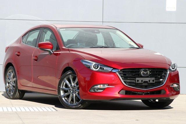 New Mazda 3 BN5238 SP25 SKYACTIV-Drive Astina, 2019 Mazda 3 BN5238 SP25 SKYACTIV-Drive Astina Soul Red Crystal 6 Speed Sports Automatic Sedan