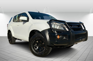 2014 Isuzu MU-X MY15 LS-M Rev-Tronic White 5 Speed Sports Automatic Wagon.