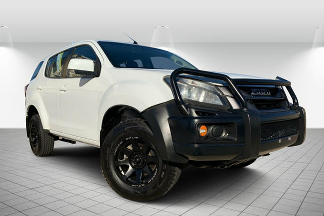 Used Isuzu MU-X MY15 LS-M Rev-Tronic, 2014 Isuzu MU-X MY15 LS-M Rev-Tronic White 5 Speed Sports Automatic Wagon