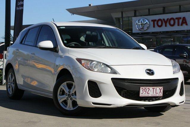 Used Mazda 3 BL10F2 MY13 Neo Activematic, 2013 Mazda 3 BL10F2 MY13 Neo Activematic White 5 Speed Sports Automatic Hatchback
