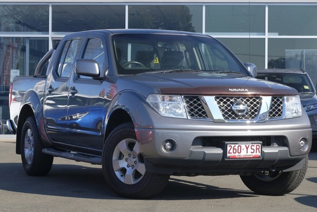 Used Nissan Navara D40 S6 MY12 ST 4x2, 2011 Nissan Navara D40 S6 MY12 ST 4x2 Grey 5 Speed Sports Automatic Utility
