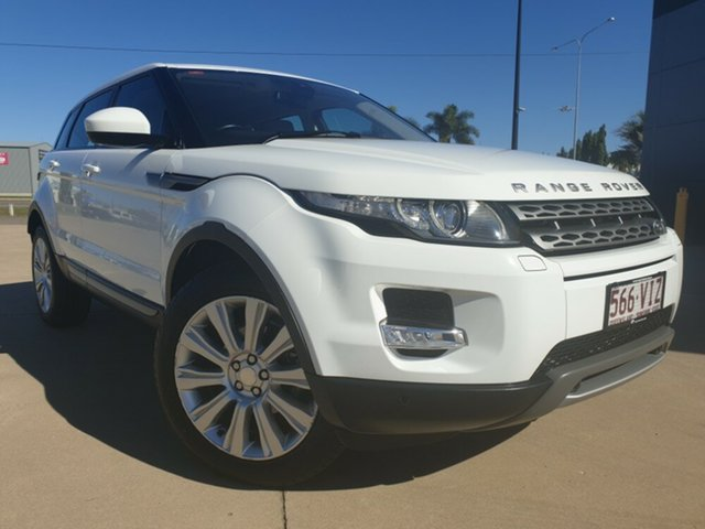 Used Land Rover Range Rover Evoque L538 MY14 TD4 Pure, 2014 Land Rover Range Rover Evoque L538 MY14 TD4 Pure White 9 Speed Sports Automatic Wagon