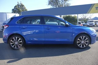 2018 Hyundai i30 PD2 MY18 Elite Blue 6 Speed Sports Automatic Hatchback.