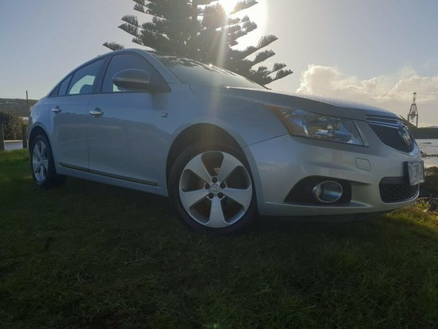 Used Holden Cruze JH Series II MY13 Equipe, 2013 Holden Cruze JH Series II MY13 Equipe Nitrate 6 Speed Sports Automatic Sedan