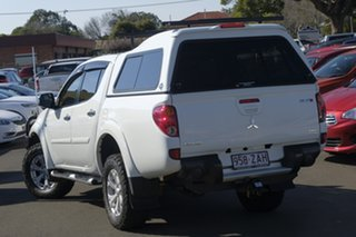 2015 Mitsubishi Triton MN MY15 GLX-R Double Cab White 5 Speed Manual Utility.