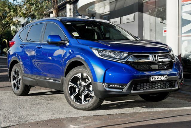 Demo Honda CR-V RW MY19 VTi-LX 4WD, 2019 Honda CR-V RW MY19 VTi-LX 4WD Brilliant Sporty Blue 1 Speed Constant Variable Wagon