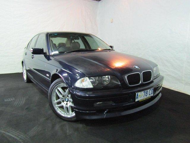 Used BMW 318i E46 Executive Steptronic, 2001 BMW 318i E46 Executive Steptronic Orient Blue/black 4 Speed Sports Automatic Sedan