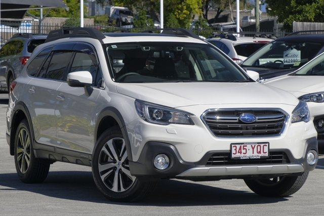 Demo Subaru Outback B6A MY18 2.5i CVT AWD Premium, 2018 Subaru Outback B6A MY18 2.5i CVT AWD Premium White Crystal 7 Speed Constant Variable Wagon
