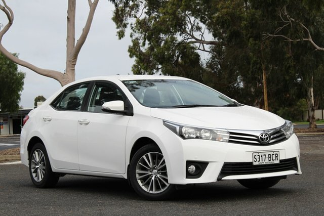 Used Toyota Corolla ZRE172R SX S-CVT, 2014 Toyota Corolla ZRE172R SX S-CVT White 7 Speed Constant Variable Sedan