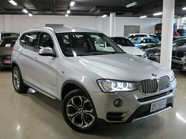 Used BMW X3 F25 LCI xDrive20d Steptronic, 2015 BMW X3 F25 LCI xDrive20d Steptronic Glacier Silver 8 Speed Automatic Wagon