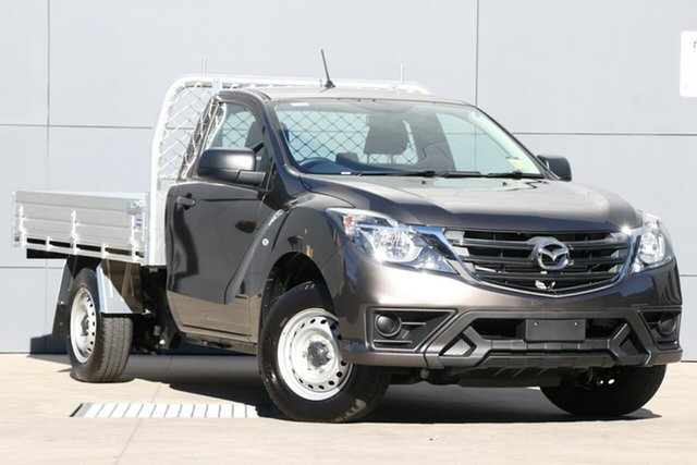 Demo Mazda BT-50 UR0YE1 XT 4x2, 2019 Mazda BT-50 UR0YE1 XT 4x2 Titanium Flash 6 Speed Manual Cab Chassis
