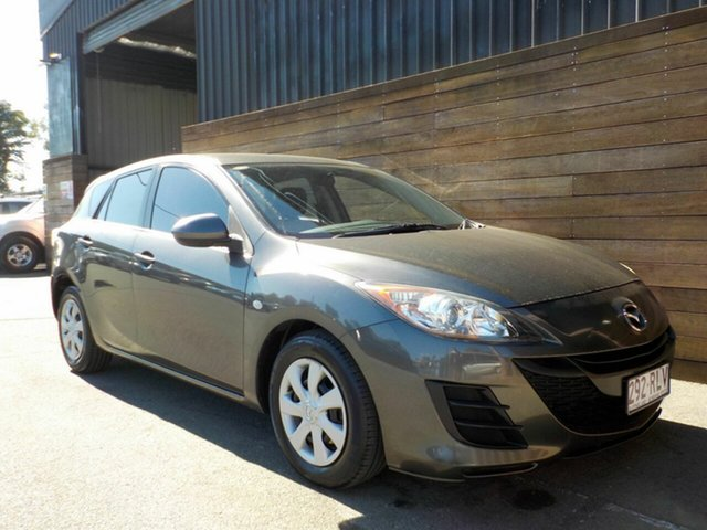 Used Mazda 3 BL10F1 MY10 Neo, 2011 Mazda 3 BL10F1 MY10 Neo Grey 6 Speed Manual Hatchback