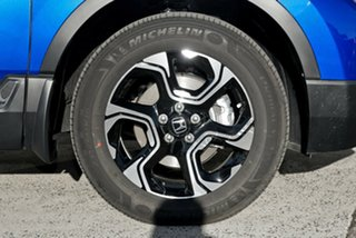 2019 Honda CR-V RW MY19 VTi-LX 4WD Brilliant Sporty Blue 1 Speed Constant Variable Wagon.