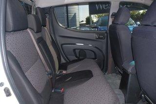 2015 Mitsubishi Triton MN MY15 GLX-R Double Cab White 5 Speed Manual Utility