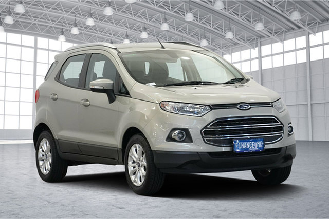 Used Ford Ecosport BK Titanium PwrShift, 2015 Ford Ecosport BK Titanium PwrShift Silver 6 Speed Sports Automatic Dual Clutch Wagon