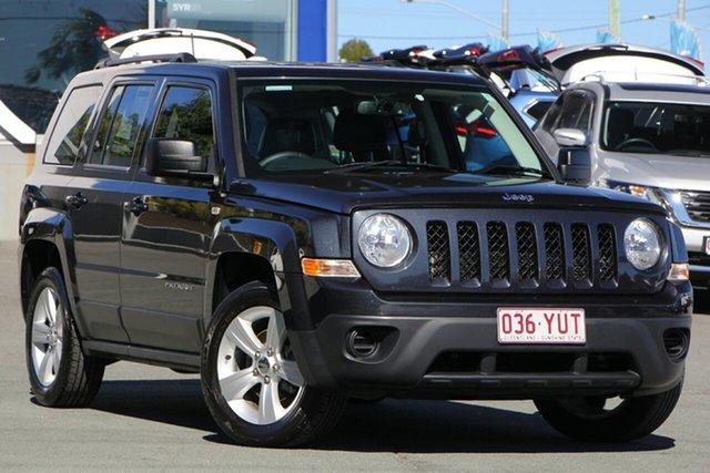 Used Jeep Patriot MK MY14 Sport 4x2, 2013 Jeep Patriot MK MY14 Sport 4x2 Grey 6 Speed Sports Automatic Wagon