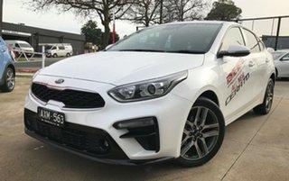 2018 Kia Cerato BD MY19 Sport+ Snow White Pearl 6 Speed Sports Automatic Hatchback.