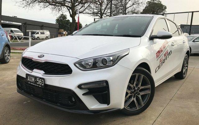 Demo Kia Cerato BD MY19 Sport+, 2018 Kia Cerato BD MY19 Sport+ Snow White Pearl 6 Speed Sports Automatic Hatchback
