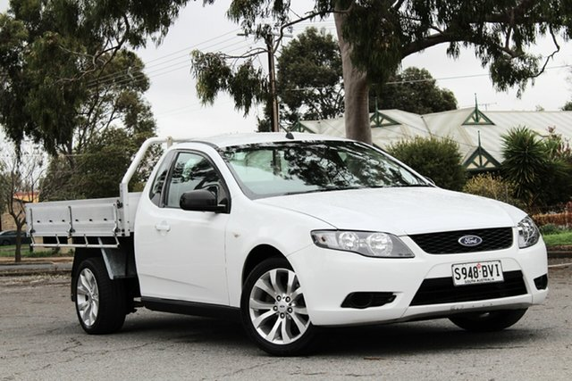 Used Ford Falcon FG Super Cab, 2010 Ford Falcon FG Super Cab White 5 Speed Sports Automatic Cab Chassis