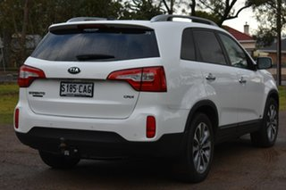 2014 Kia Sorento XM MY14 Platinum 4WD White 6 Speed Sports Automatic Wagon.