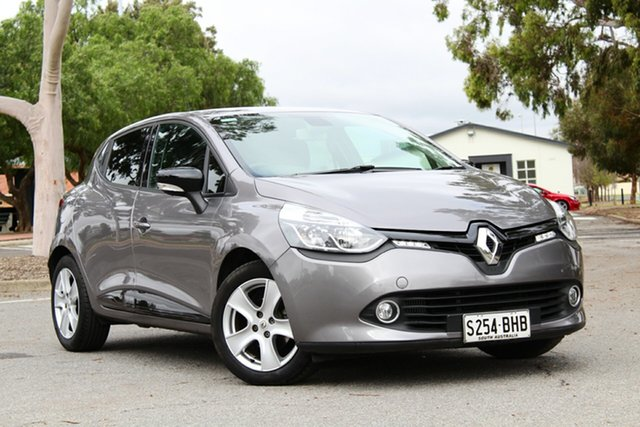 Used Renault Clio IV B98 Expression EDC, 2015 Renault Clio IV B98 Expression EDC Grey 6 Speed Sports Automatic Dual Clutch Hatchback