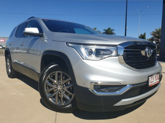 Used Holden Acadia AC MY19 LTZ AWD, 2018 Holden Acadia AC MY19 LTZ AWD Nitrate Silver 9 Speed Sports Automatic Wagon