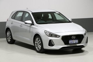 2017 Hyundai i30 PD Active Silver 6 Speed Auto Sequential Hatchback