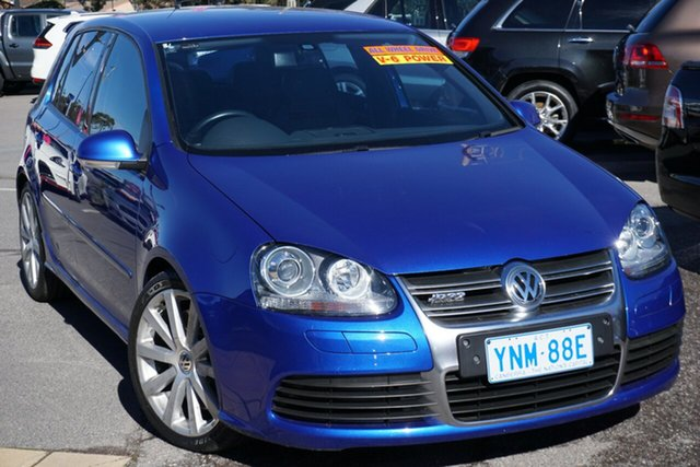 Used Volkswagen Golf V MY09 R32 DSG 4MOTION, 2009 Volkswagen Golf V MY09 R32 DSG 4MOTION Blue 6 Speed Sports Automatic Dual Clutch Hatchback