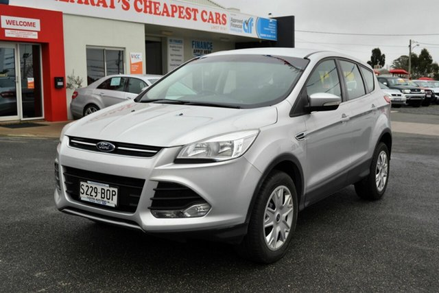 Used Ford Kuga TF Ambiente (AWD), 2013 Ford Kuga TF Ambiente (AWD) Silver 6 Speed Automatic Wagon