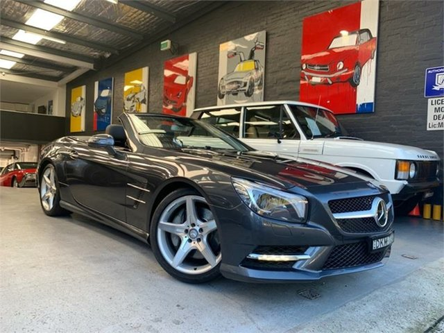 Used Mercedes-Benz SL500 R231 BlueEFFICIENCY, 2013 Mercedes-Benz SL500 R231 BlueEFFICIENCY Tenorite Grey Sports Automatic Roadster