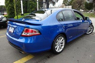 2013 Ford Falcon FG MkII XR6 Turbo Blue 6 Speed Sports Automatic Sedan.